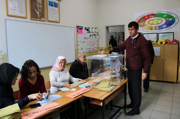 Seçim Müdürlüğü Oy Oranlarını Açıkladı