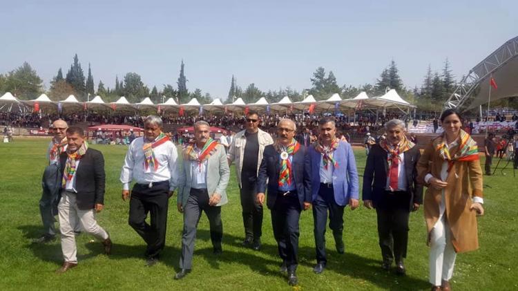 Öztabak Ertuğrul Gazi'yi Anma Törenine Katıldı