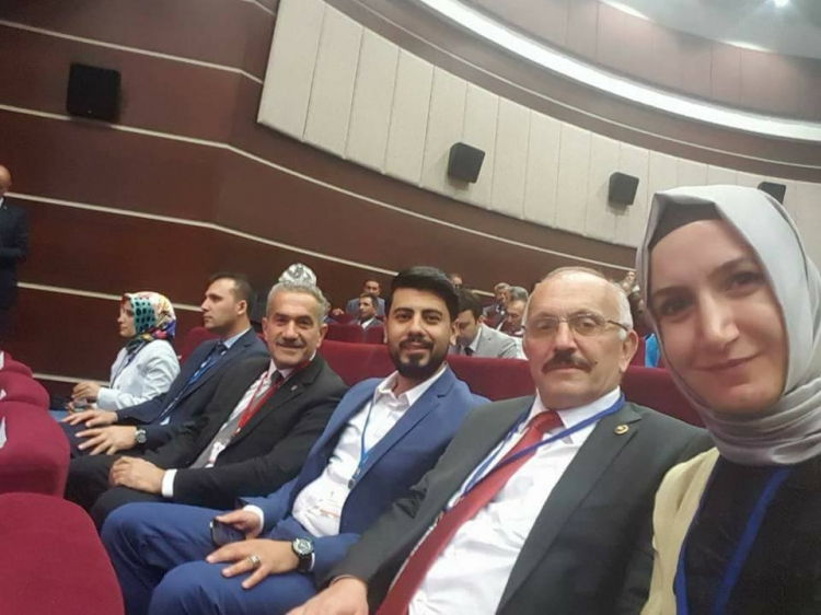 Öztabak İl Başkanları Toplantısına Katıldı