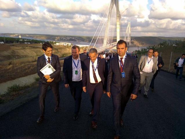 Öztabak Ve Demirel Köprünün Açılışına Katıldılar