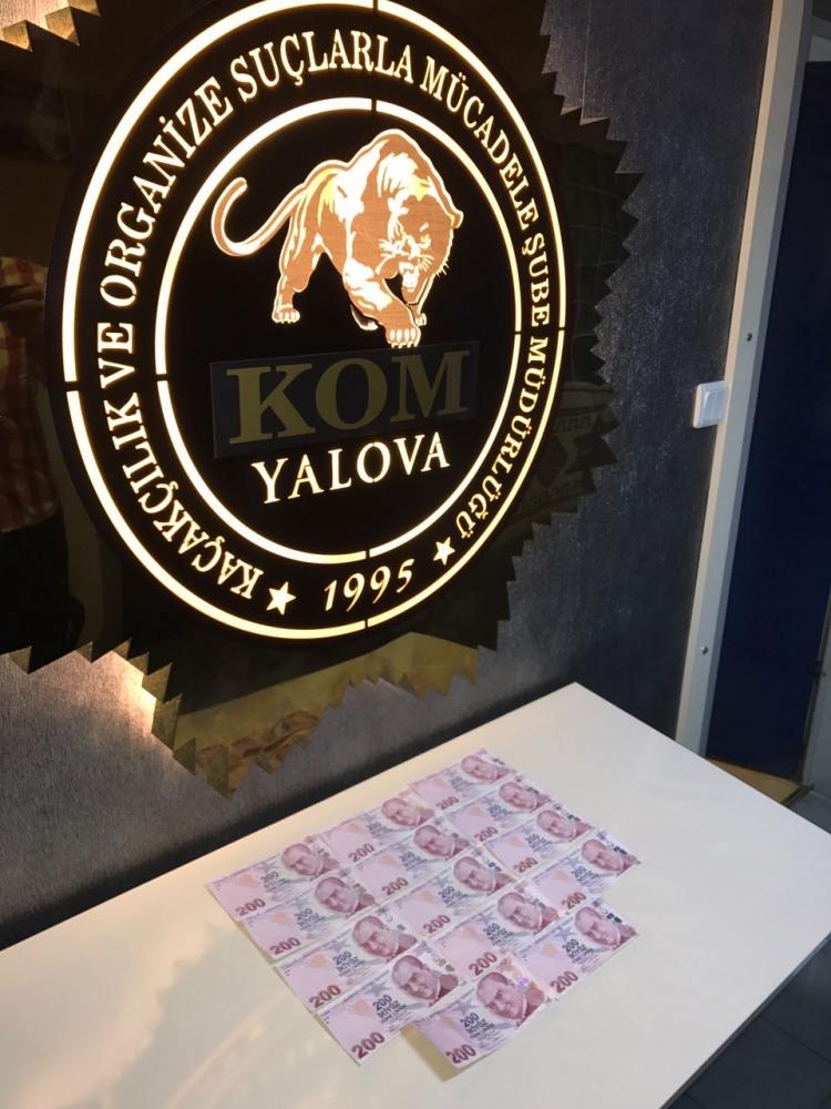 Polisten Sahte Para Ve Uyuşturucu Operasyonu