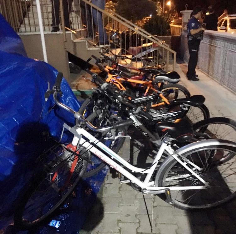 Polis Bisiklet Hırsızlarına Göz Açtırmadı