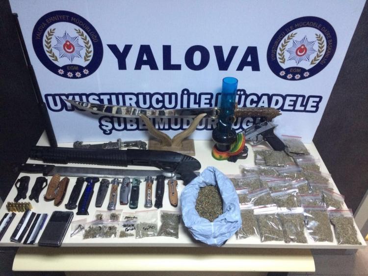 Polis Uyuşturucu Tacirlerine Göz Açtırmadı