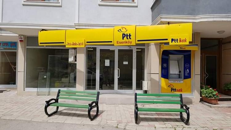 PTT Esenköy Şubesi Yeni Yerine Taşındı