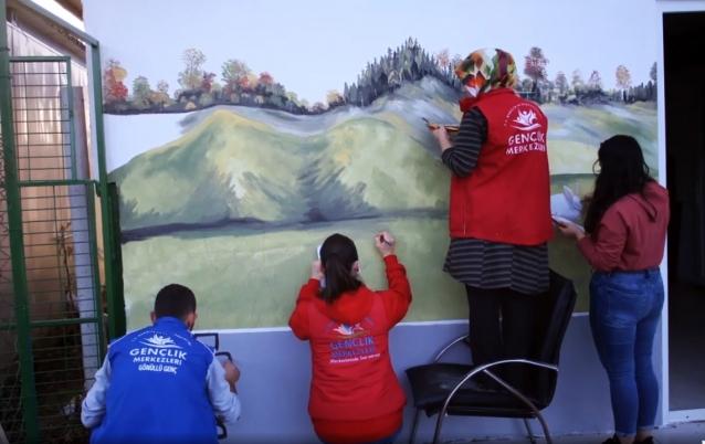 Rehabilitasyon Merkezi Değil Sanki Sanat Galerisi