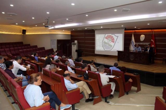 Salman Birim Müdürleri İle Toplantı Yaptı