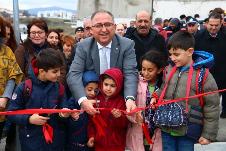 Salman Parkı Çocuklarla Birlikte Yaptı