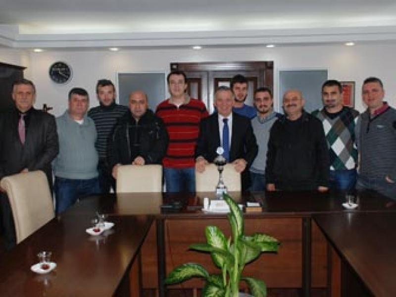 Şampiyon Doğanspor Başkan Koçal'ı Ziyaret Etti