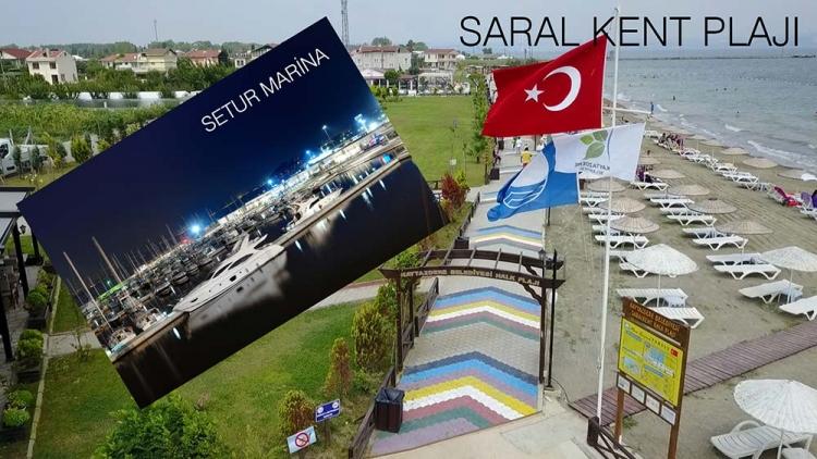 Saralkent Ve Setur Marina'ya Mavi Bayrak