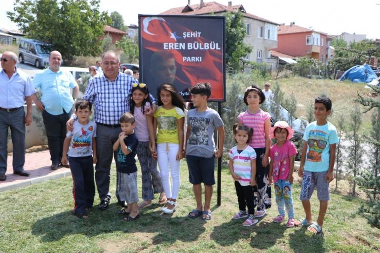 Şehit Eren Bülbül'ün Adı Yalova'da Ölümsüzleştirildi