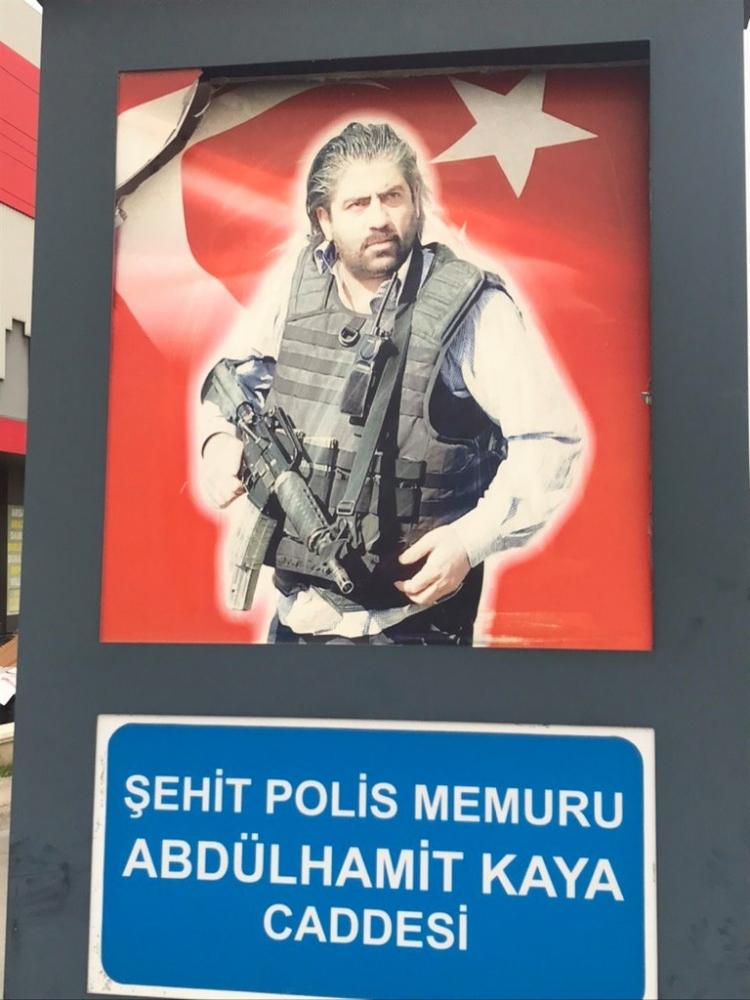 Şehit Polisin Adı Çiftlikköy'de Yaşayacak