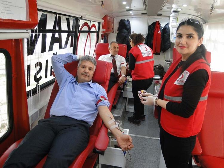 SGK Ve AFAD'dan Kan Bağışı