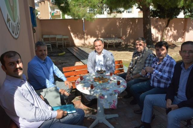 SGK Müdürü Aydın'dan Ali Demirhan'a Ziyaret