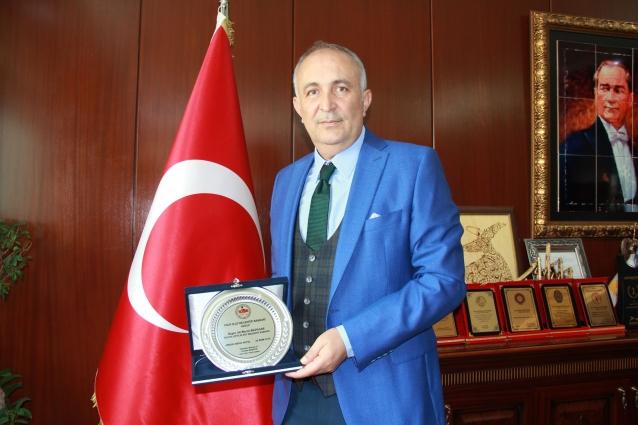 Silpagar'a Ankara'dan Yılın En Başarılı Belediye Başkanı Ödülü