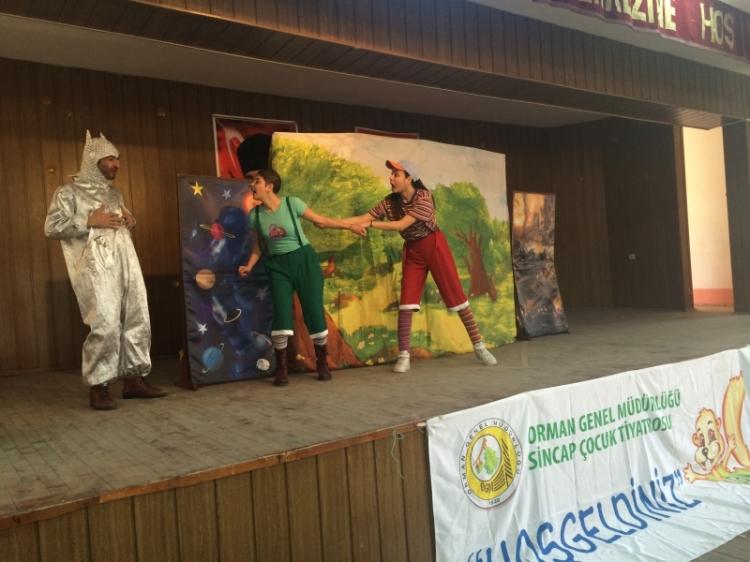 Sincap Çocuk Tiyatrosu Yalovalı Çocuklarla Buluşacak