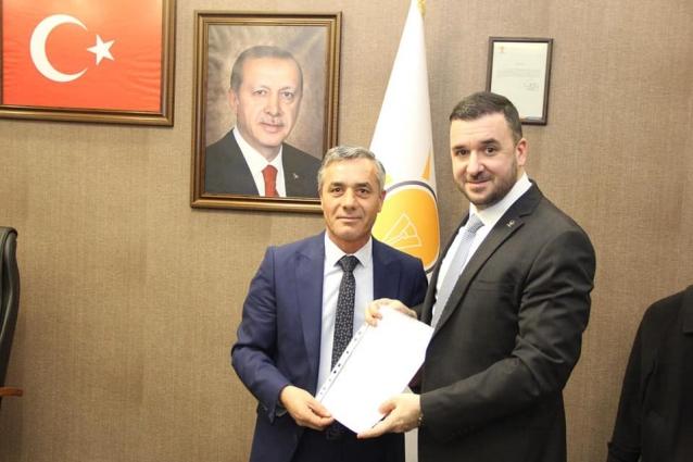 Spor Kompleksi Proje Dosyası Bağatar'a Teslim Etti