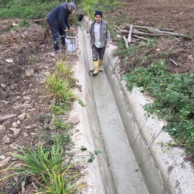 Sulama Suyu Kanalları Temizlendi