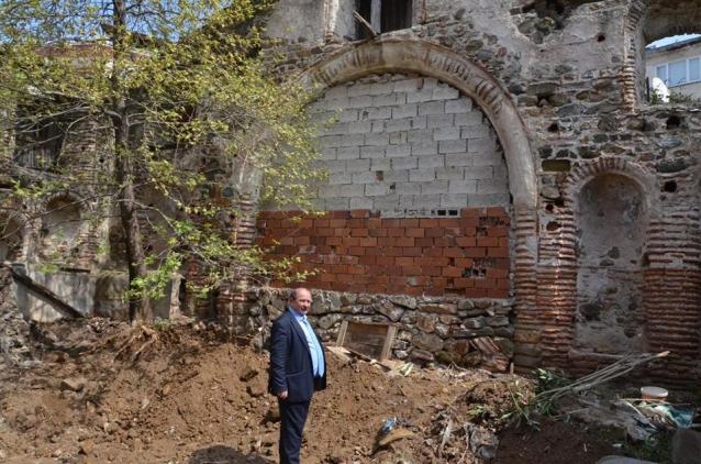 Tarihi Kilise Gün Yüzüne Çıkacak