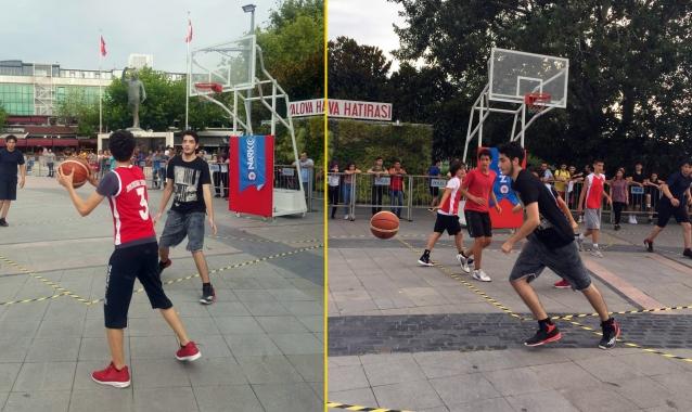 TDP'den Sokak Basketbolu Turnuvası