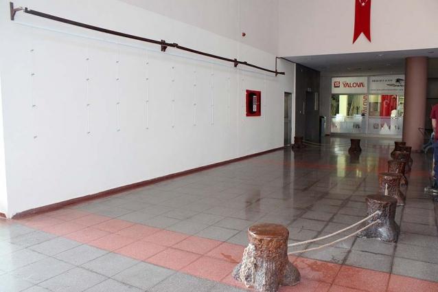 Terminal Sanat Galerisine Dönecek