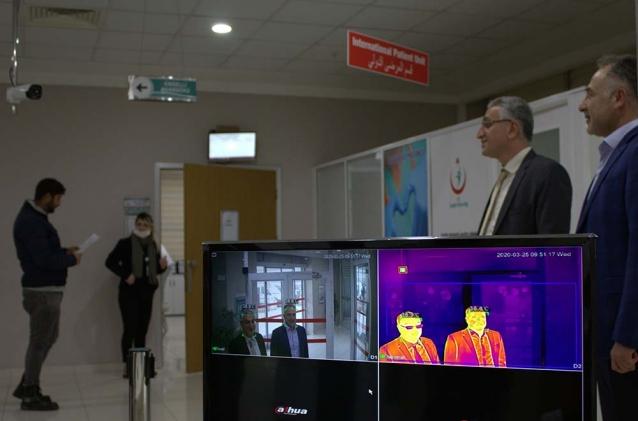 Tersanecilerden Hastaneye Termal Kamera Hediyesi