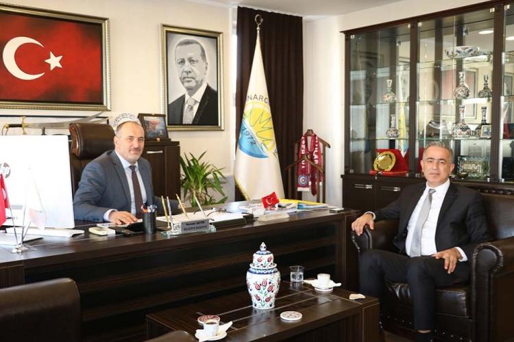 Ticaret İl Müdürü Tunalı'dan Soyer'e Ziyaret