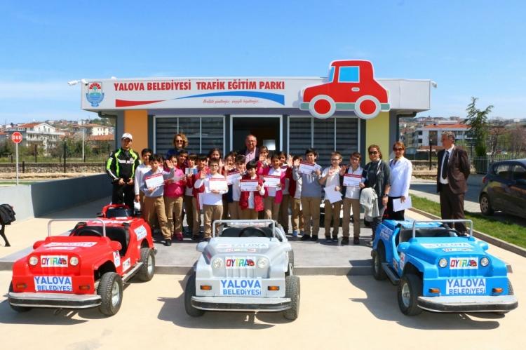 Trafik Eğitim Parkı'nda Eğitimler Nisan Ayında Başlıyor