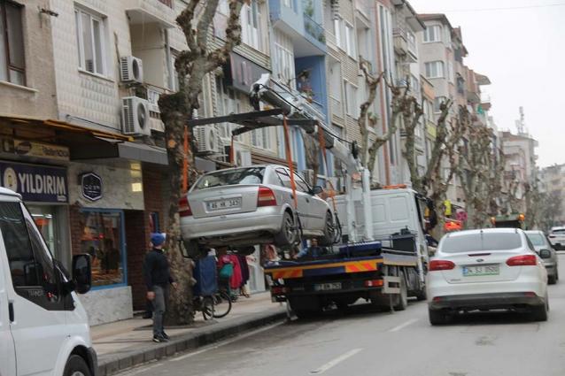 Trafik Ekipleri Hatalı Parklara Göz Açtırmıyor