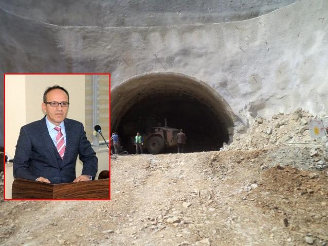 Tünel Çalışmaları Devam Ediyor
