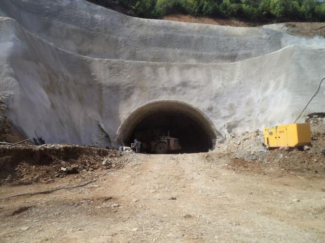 Tünel Çalışmaları Tam Gaz