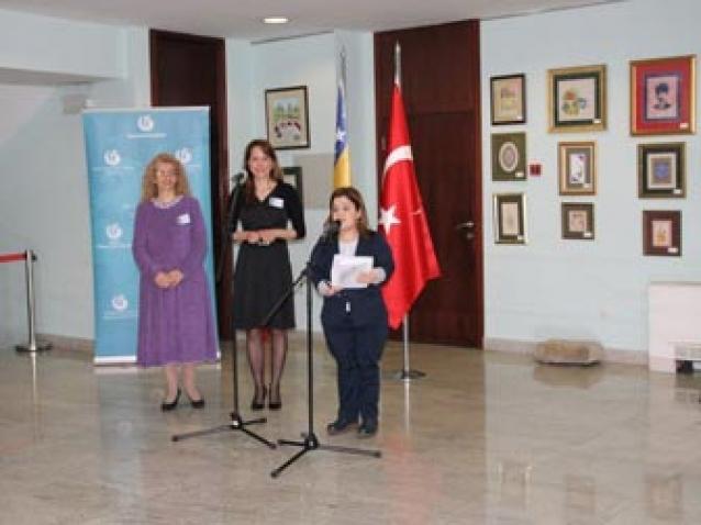 Türk Sanatı Bosna Hersek'te Tanıtıldı