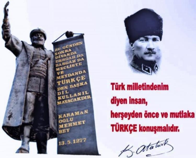Karamanoğlu Mehmet Bey Fermanı Ve Türkçe'nin Önemi