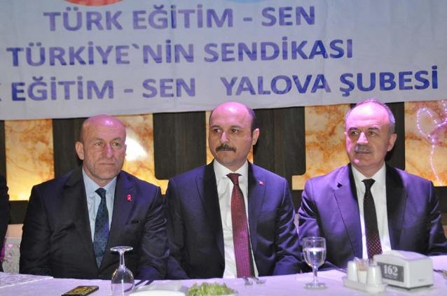 Türkiye Kamu-Sen Genel Başkanı Yalova'daydı