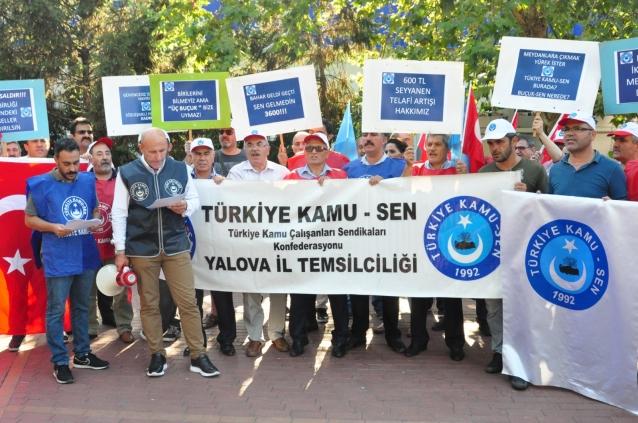 Türkiye Kamu-Sen Zam İçin Meydana İndi