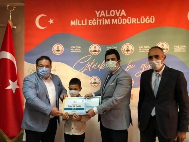 Türkiye Üçüncülüğü Yalova'dan