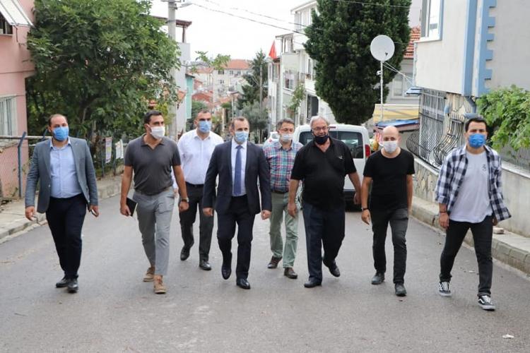 Tutuk Bayraktepe Mahallesi'nin Sorunlarını Dinledi