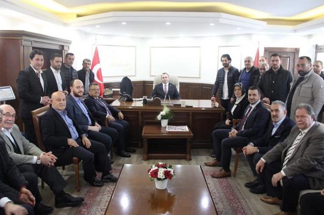 Tutuk'a, Ak Parti'den Hayırlı Olsun Ziyareti
