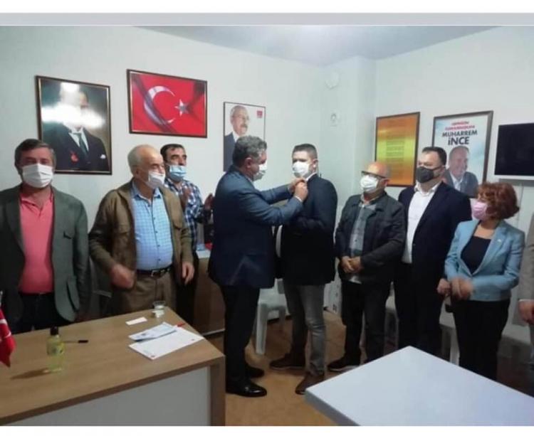 Ümit Korkmaz CHP'ye Katıldı