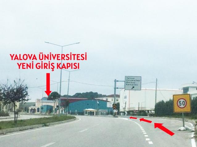 Üniversite'ye, Yeni Giriş Noktası