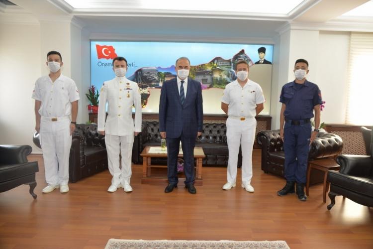 Vali Erol Sahil Güvenlik Komutanlığı'nın Kuruluşunu Kutladı