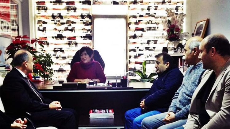 Vali Erol'dan CHP'ye İade-i Ziyaret