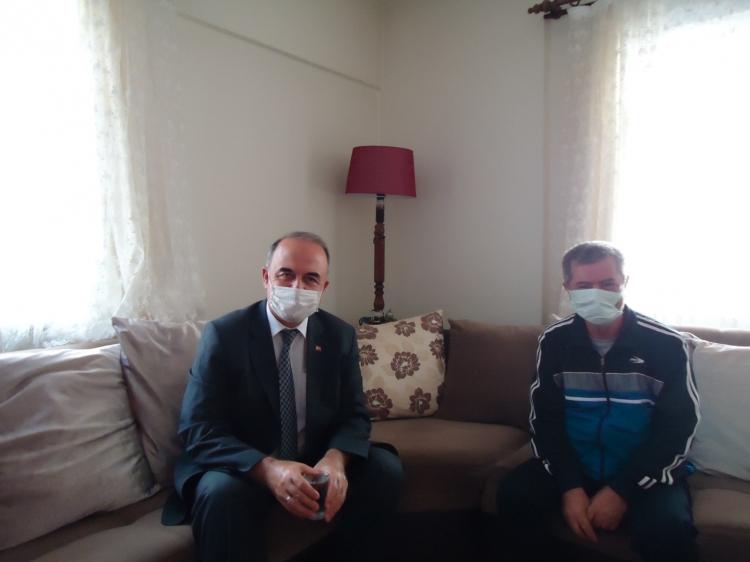 Vali Muammer Erol'dan Kırtay'a Geçmiş Olsun Ziyareti