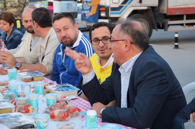Başkan Salman GFB Üyeleri İle Buluştu