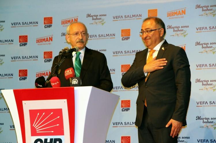 """""""CHP Lideri Kılıçdaroğlu Yalova'daydı"""""""