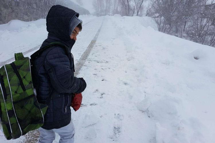 Yüz Yüze Eğitime Kar Engeli