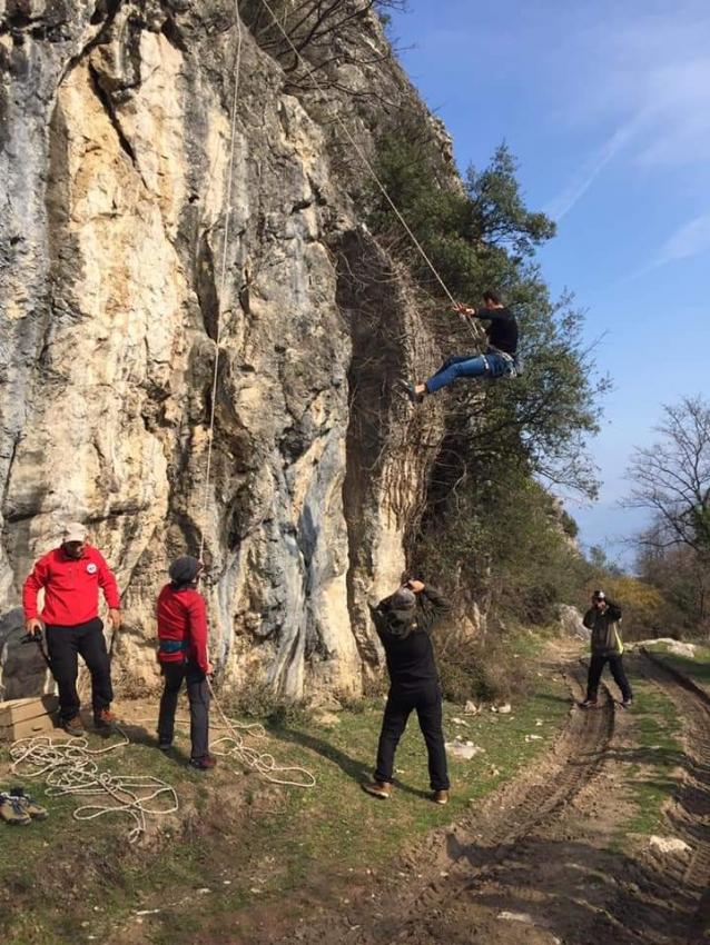 Yados'tan Tırmanış Eğitimi