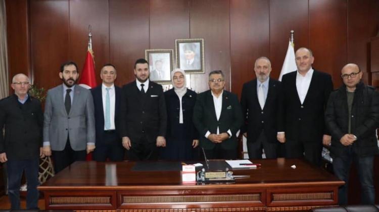Yağcı Ak Partili Belediye Başkanları İle Buluştu