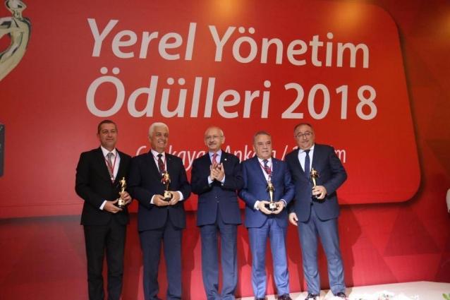 Yalova Belediyesi'ne Çevre Ödülü