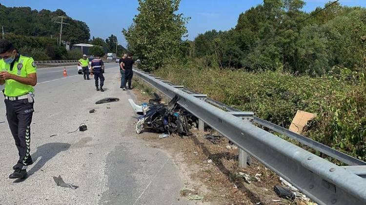 Yalova-Bursa Yolunda Kaza 1 Ölü