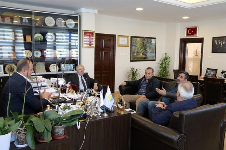 Yalova Erzincanlılar Derneğinden Kurt'a Ziyaret